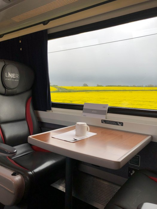 LNER railway from edinburgh to london first class