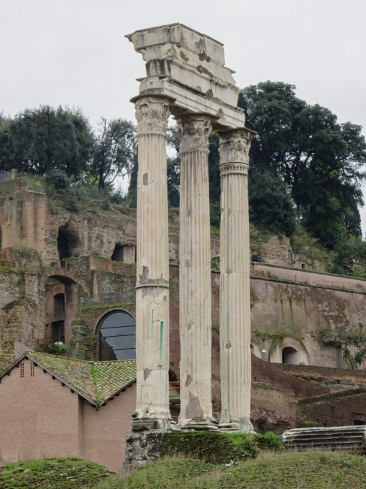 temple of castor and pollux roman forum