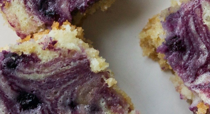 Caitlin's Confections: Blueberry Lemon Butter Bars