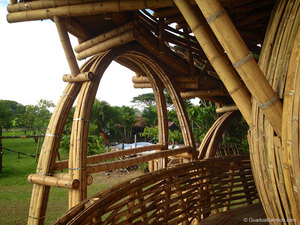 bamboo treehouse, bamboo tree house