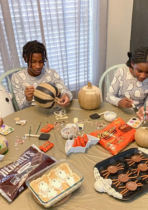 Pumpkin Painting- A Halloween Tradition