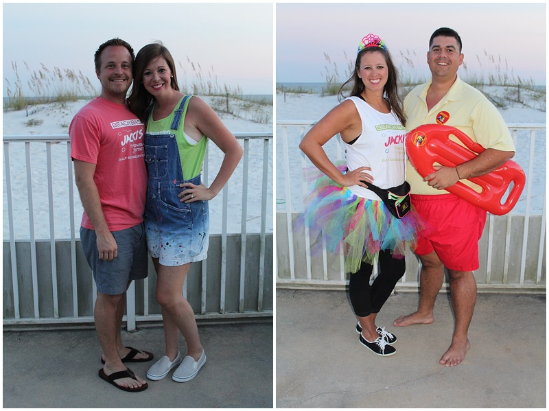 this is thirty, 30 before 30, beach birthday party, beach dinner party, 80s party, gulf shores alabama, birthday fiesta