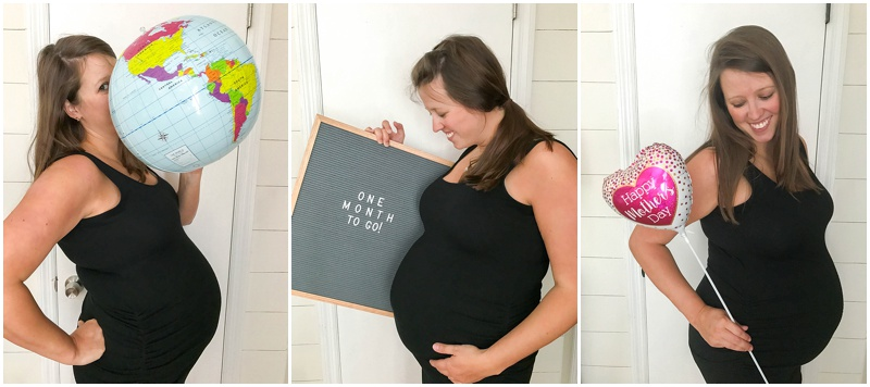 weekly pregnancy photos, pregnancy time-lapse, pregnancy belly photos