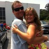 Our baby, Savannah, with the hubby