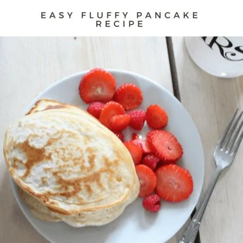 Super Easy Pancake Recipe