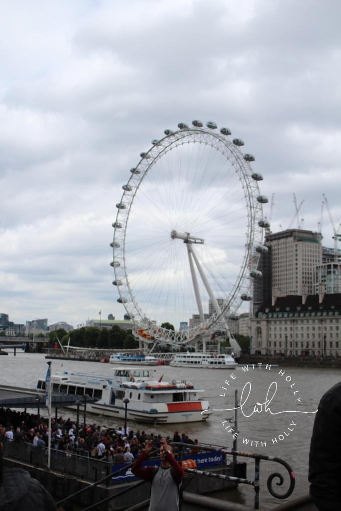 London Eye - London on a Budget by Life with Holly - Travel Tips