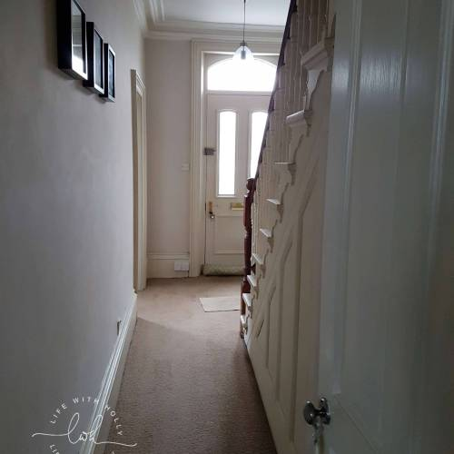 Sanding Original Floorboards Victorian Hallway Makeover - Transformation - Life with Holly