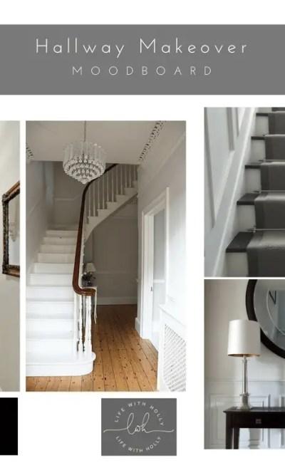 Victorian Hallway Makeover – Inspiration Board