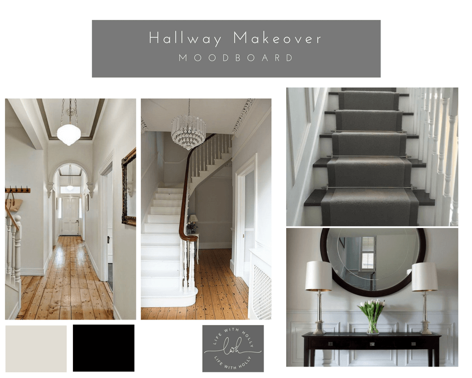 Victorian Hallway Makeover - Transformation - Life with Holly