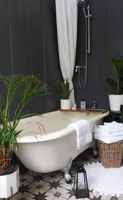 A Tutorial for Wood Panelled Walls in the Bathroom