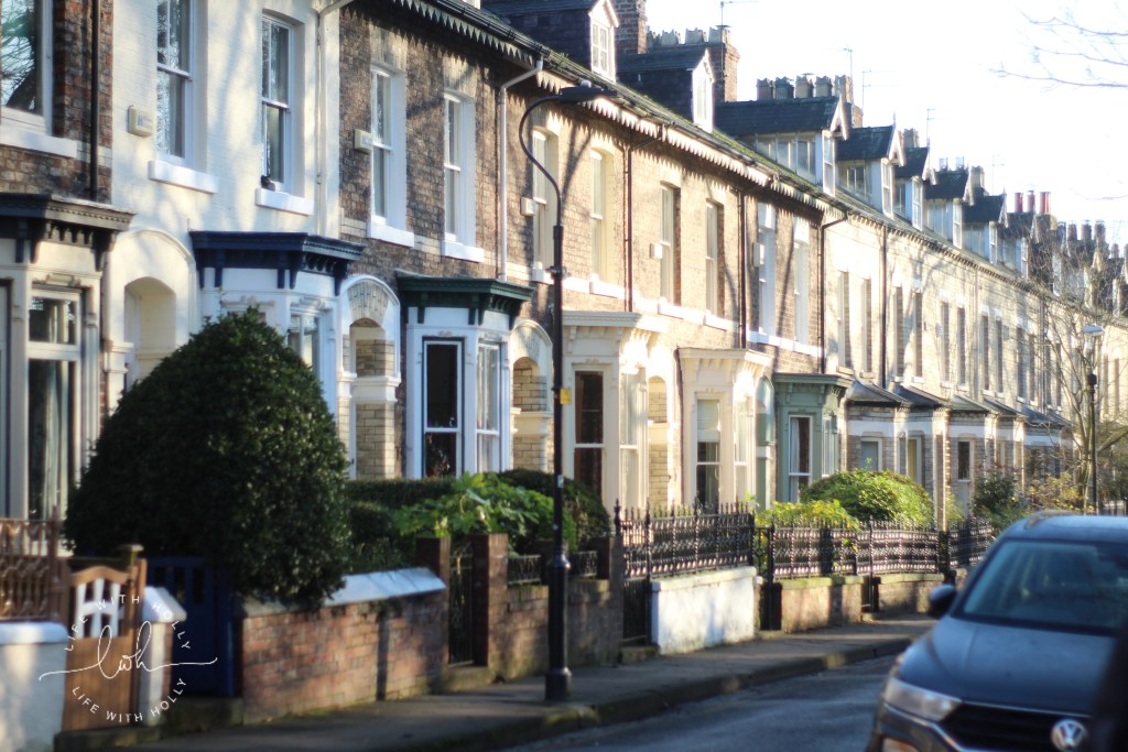 Victorian Terraced Houses with Bay Windows - Weekend-Wander-York-City-Centre-and-Walls-by-Life-with-Holly-8