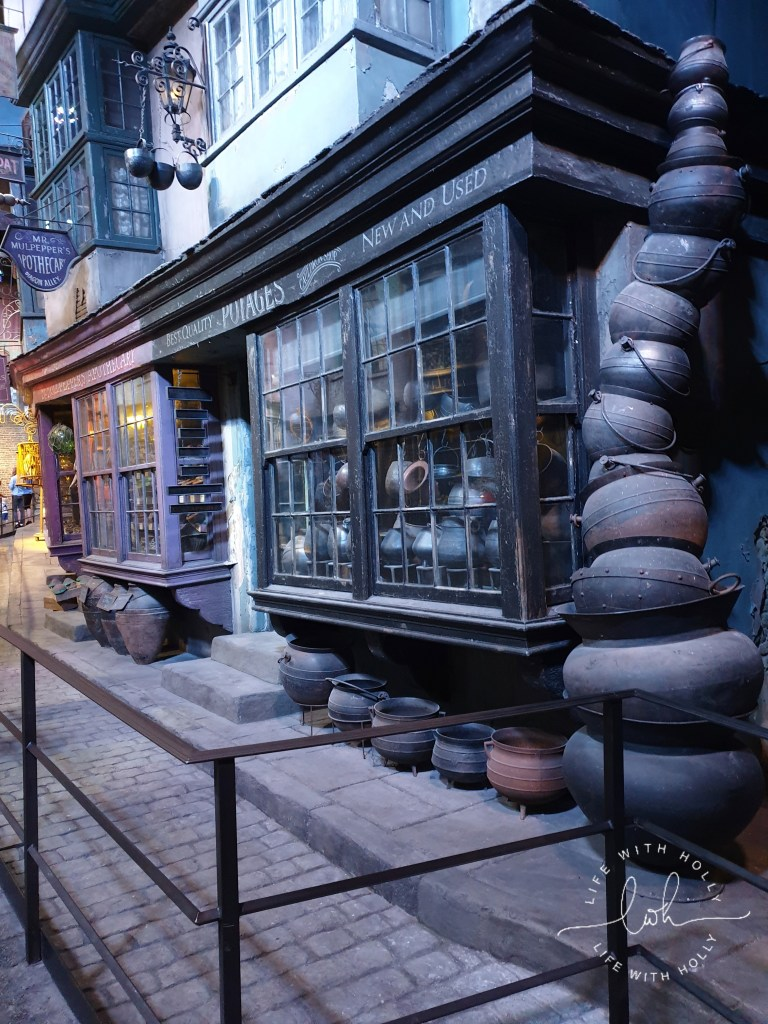 Diagon Alley Harry-Potter-Studios-Tours-Tips-and-Advice-for-Getting-the-Most-Out-of-Your-Trip-by-Life-with-Holly