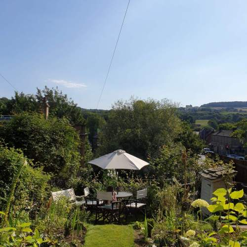 North East Facing Garden Tiered Different Levels Cottage Garden Style by Life with Holly