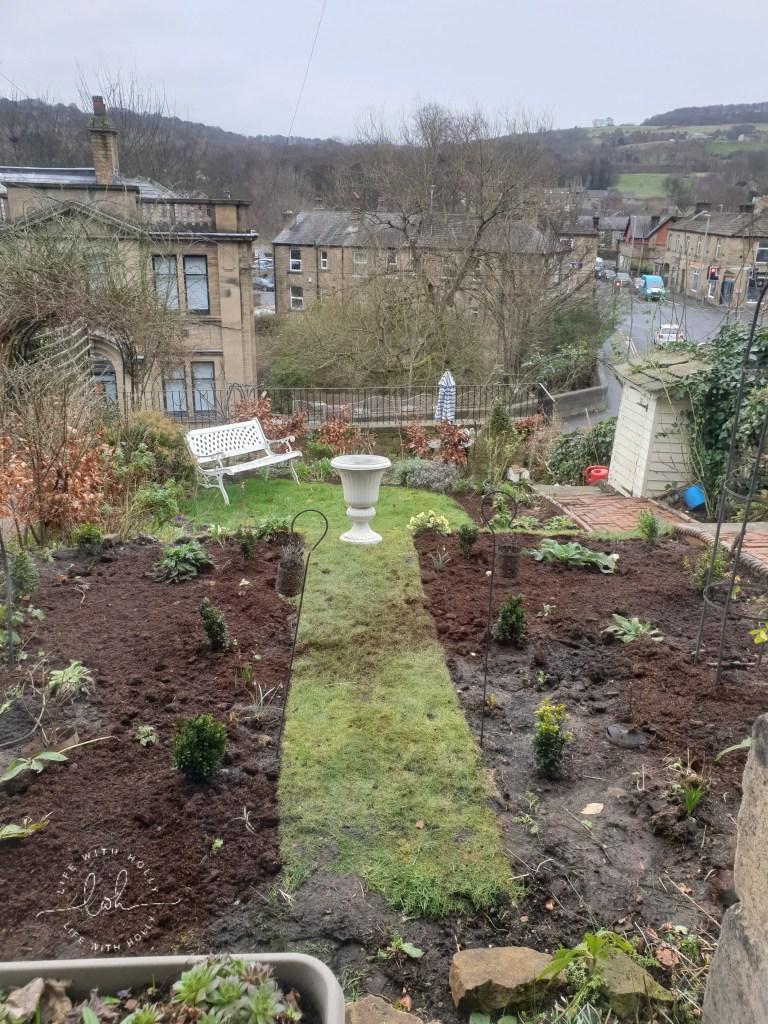 Planning new flower beds cottage garden