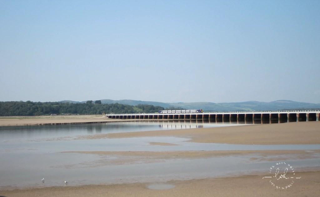 Arnside with Railway Bridge Over Kent Estuary - Short Break to Silverdale