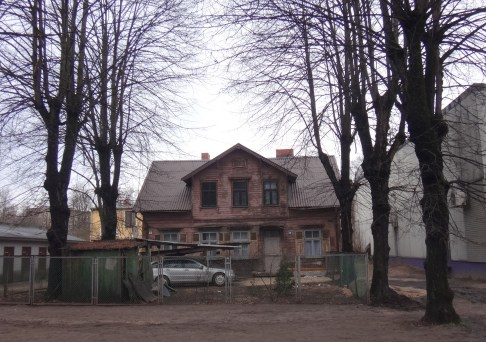 A typical wooden house