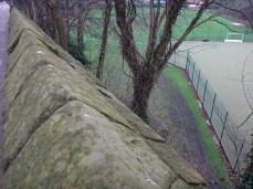 9. Racecourse.. way below the wall