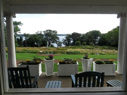 The Potomac, from inside the Estate House