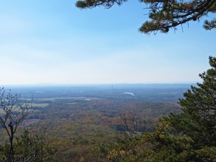 View of the Potomac from the summit