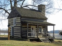 Old homestead at the Visitor Center