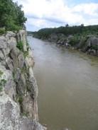 Cliffs along the Potomac