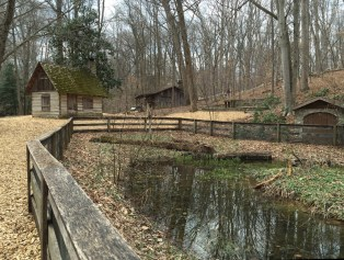 The Walker Log House and Forge, Gulf Branch Nature Center
