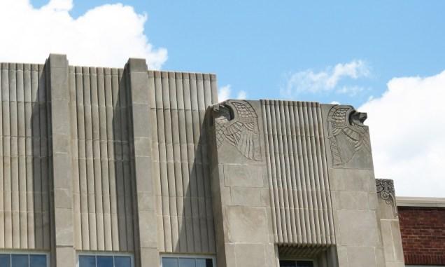 George Washington High School facade