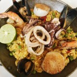 Paella at Fig and Olive