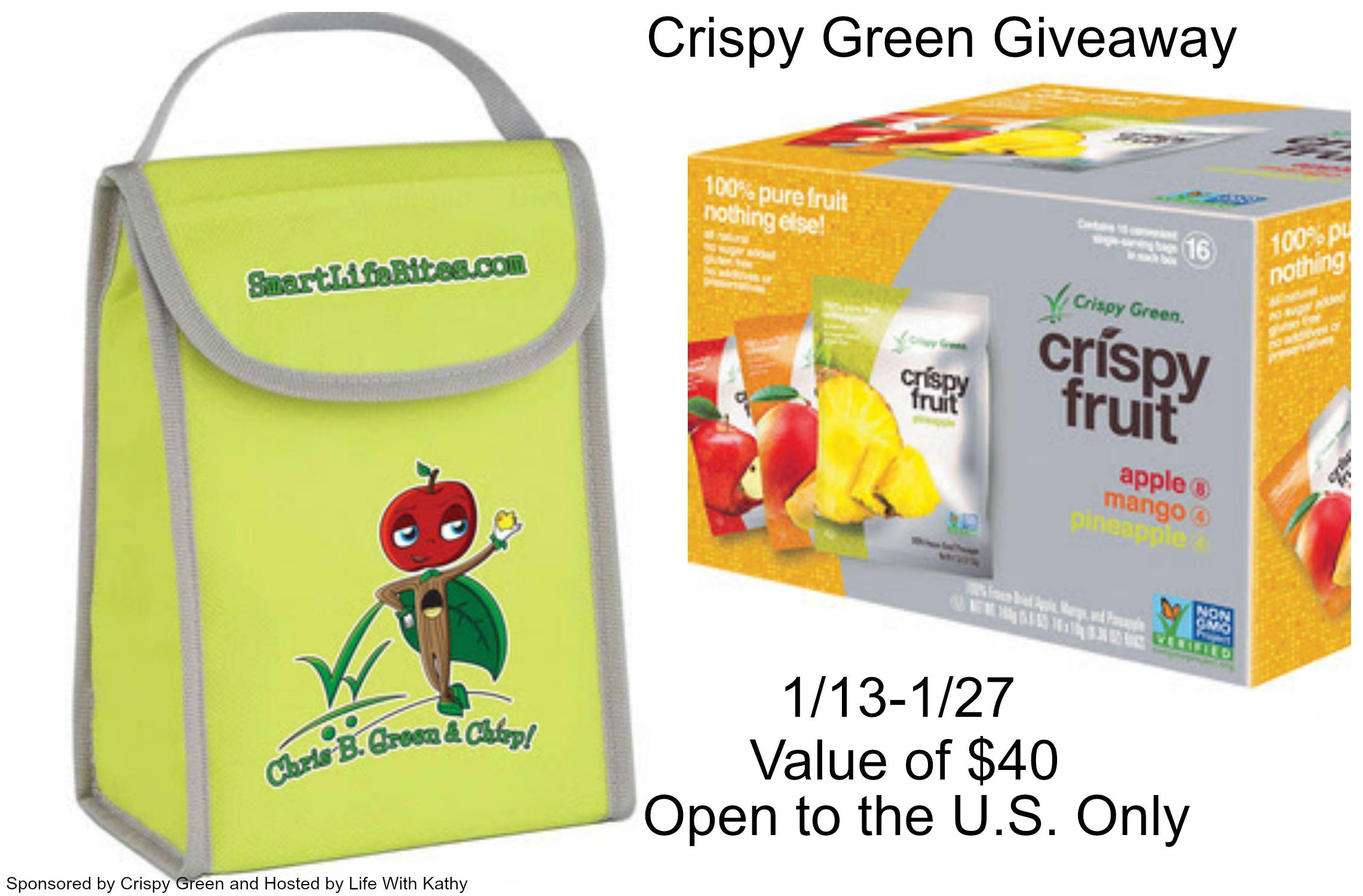 Crispy Green Giveaway