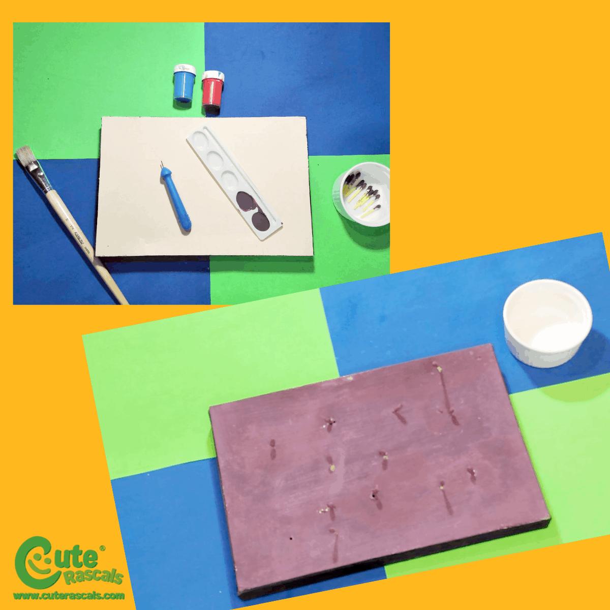 Montessori Hand Eye Coordination Kids Activity
