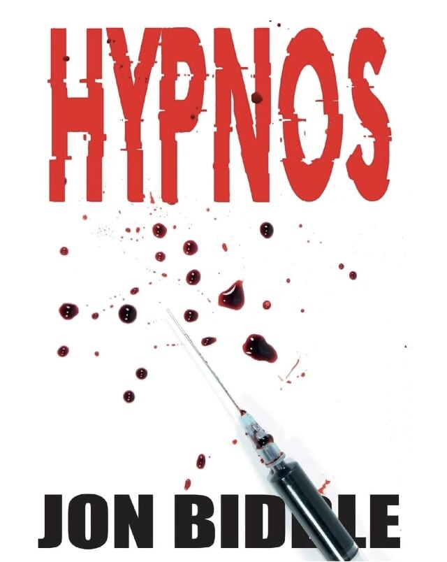 Book cover for Hypnos by Jon Biddle