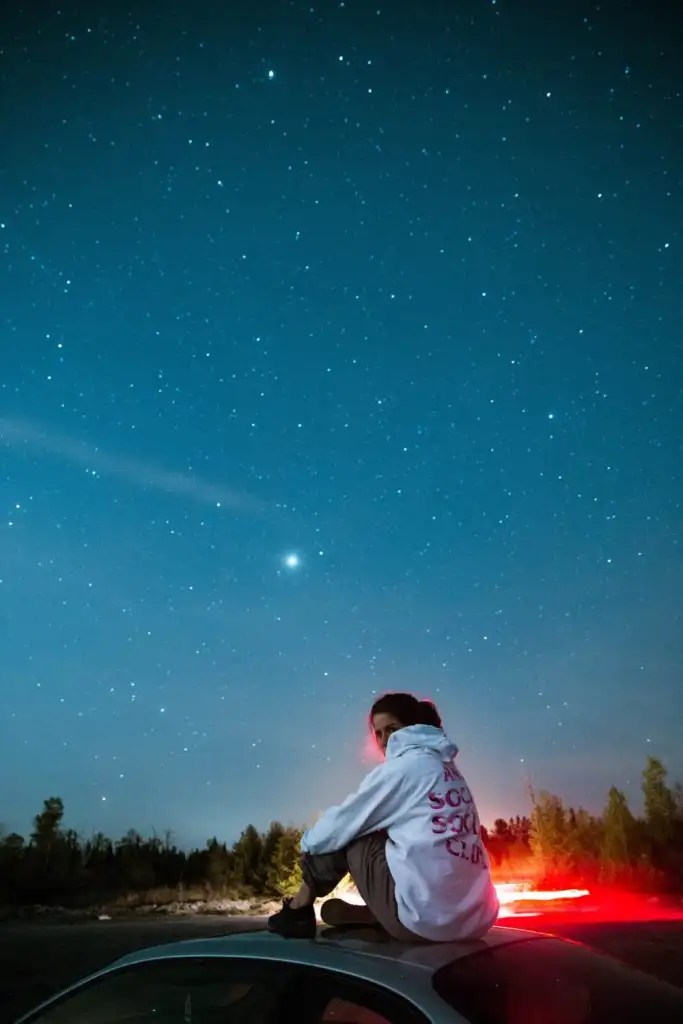 Christmas Bucket List - Go Stargazing