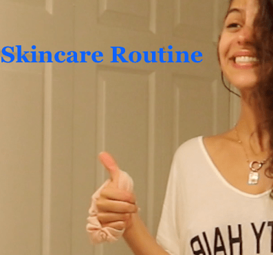 Libby Skincare Routine