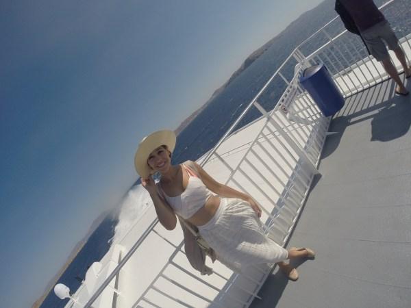 Libby Vilner, Greece