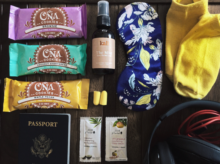 Carry-on essentials Libby Vilner