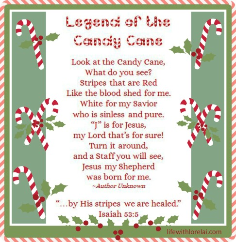 Candy Cane Legend - Life With Lorelai