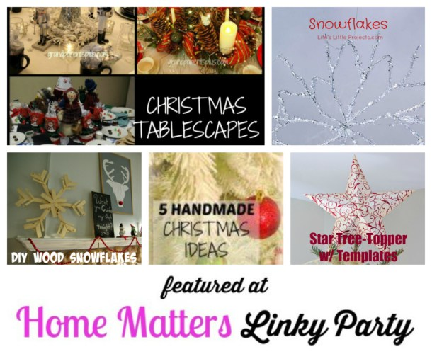 Features Home Matters Linky Party #18
