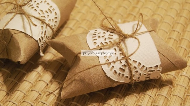 Recycling Tissue Paper Rolls To Favor Boxes - HMLP 51 Feature