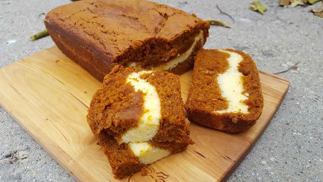 Cream Cheese Pumpkin Bread - HMLP 62 Feature