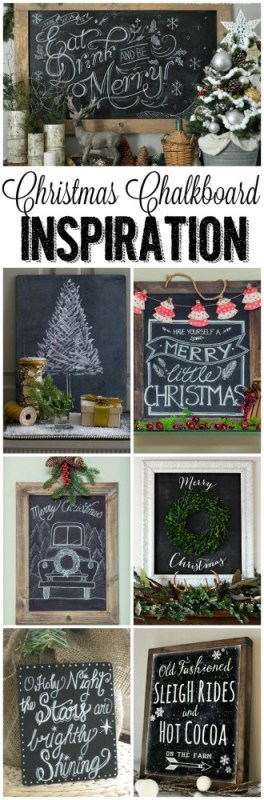 Christmas Chalkboard Inspiration - Clean & Scentsible - HMLP 66 Feature