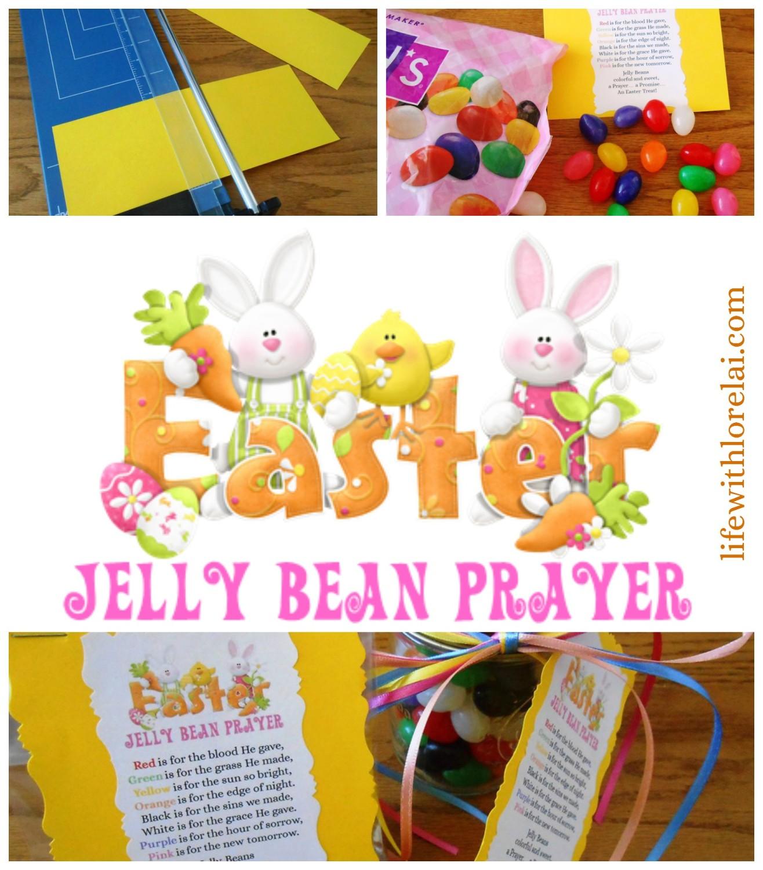 Easter Jelly Bean Prayer Poem