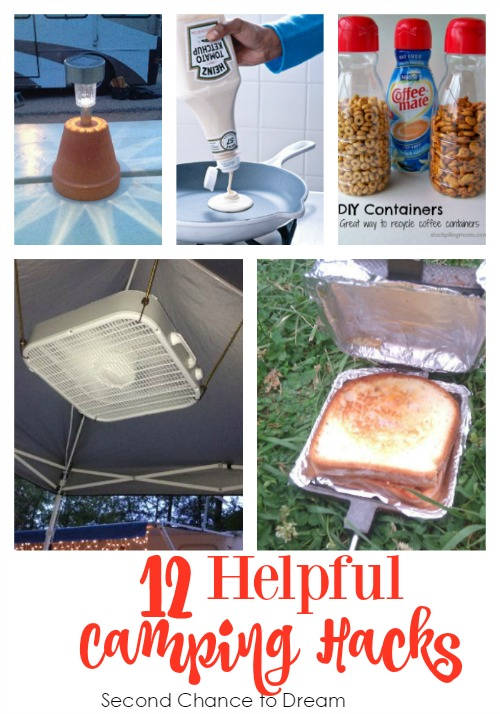 12 Helpful Camping Hacks - Second Chance to Dream - HMLP 87 - Feature