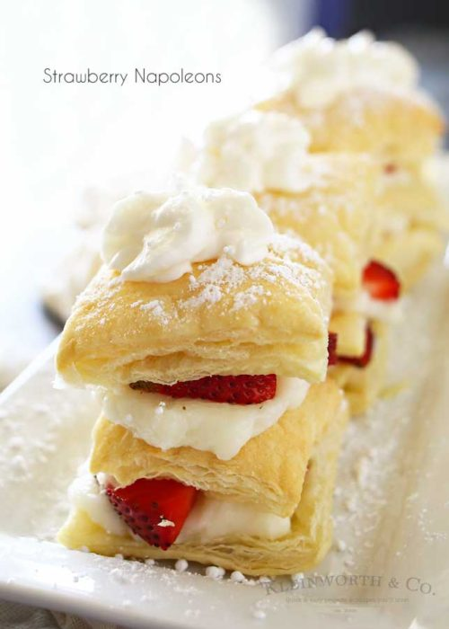 Strawberry Napoleons - Kleinworth & Co - HMLP 89 - Feature