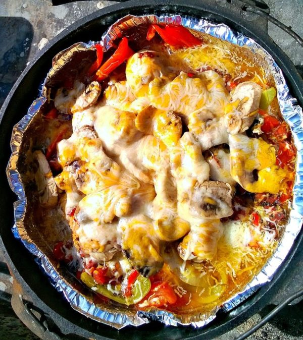 Dutch Oven Italian Dinner - Lou Lou Girls - HMLP 98 - Feature