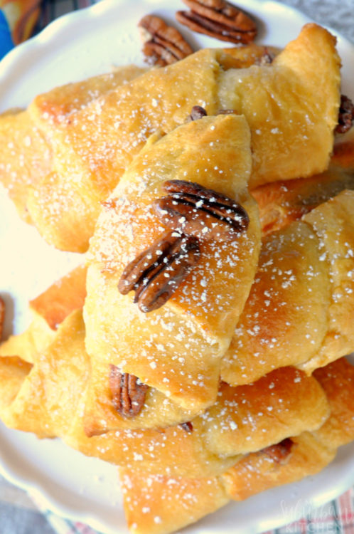 Pecan Pie Crescent Rolls - My Suburban Kitchen - HMLP 115 Feature