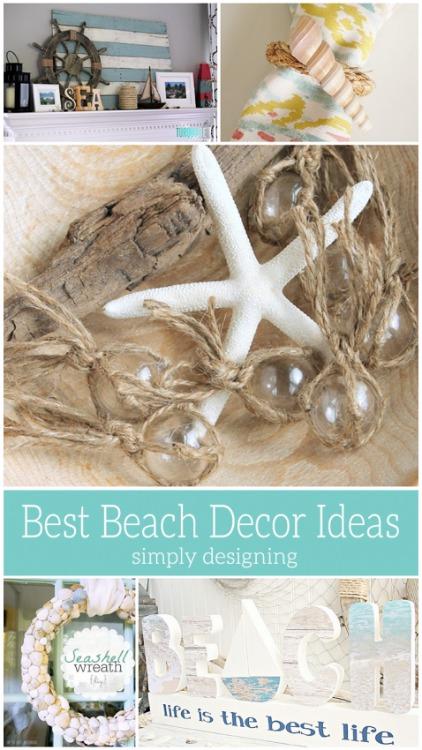 Best Beach Decor Ideas - Simply Designing - HMLP 143 Feature
