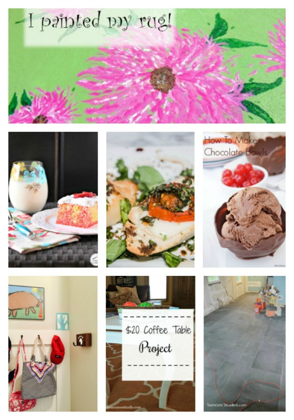 Come join the fun and link your blog posts at the Home Matters Linky Party 145. Find inspiration recipes, decor, crafts, organize -- Door Opens Friday EST.