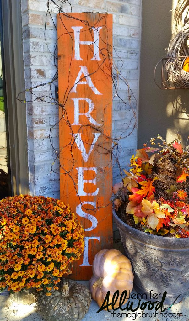 Harvest Sign - The Magic Brush - HMLP 155 Feature