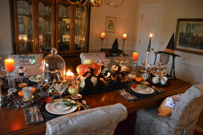 WItches Wicked Candlelight Supper - The Painted Apron - HMLP 157 Feature