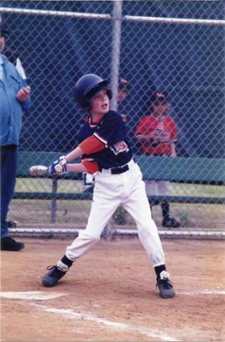 Kirk's first year of Little League 2000